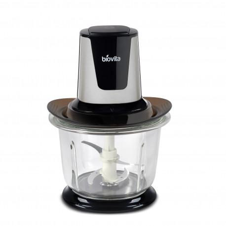 Többfunkciós Élelmiszer-Aprítógép, fekete, 500W, 1.5L